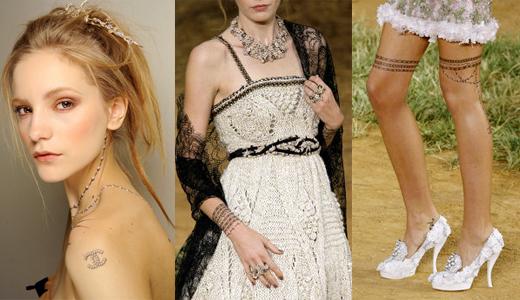 Показ Chanel Spring/Summer 2010