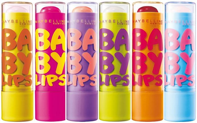 Maybelline New York выпустили бальзамы для губ Baby Lips