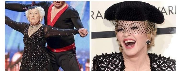 Лучшие мемы с церемонии «Грэмми-2015»: Мадонна