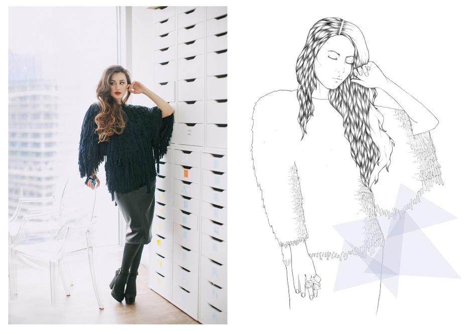 Топ - H&M; юбка - Zara; босоножки - Topshop; колготки - Calzedonia; кольцо - Magia di Gamma