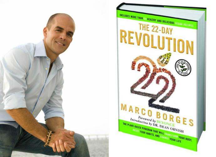 Марко Борхес и его книга о здоровом питании The 22 Day Revolution