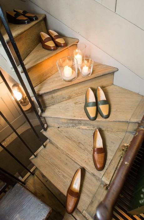 Бренд Manolo Blahnik впервые представил коллекцию мужской обуви