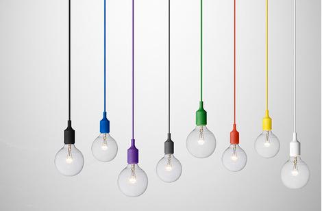 Лампы E27, Muuto, магазин Archive, 4400 руб. каждая.