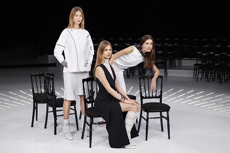 Показ коллекции Dior весна — лето 2015