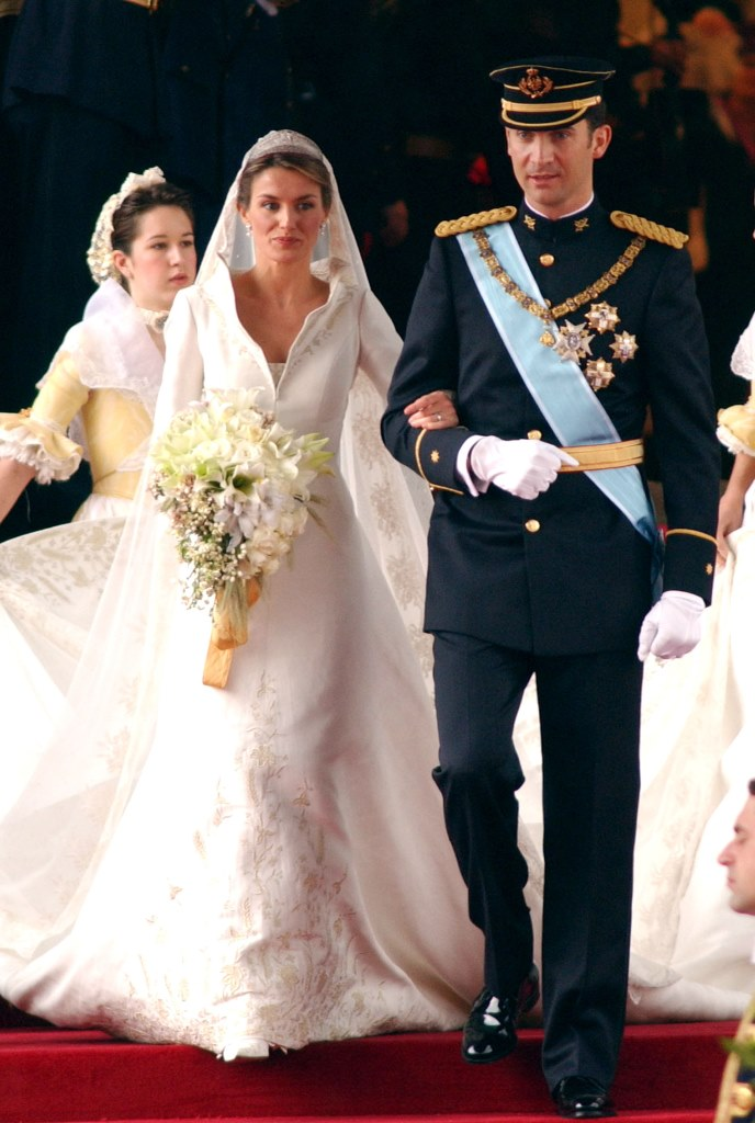 Свадьба Фелипе VI и Летисси Ортис, 2004 год