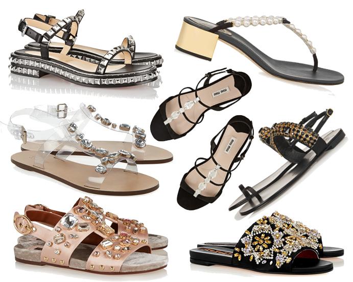 Модные сандалии 2015 года: фото