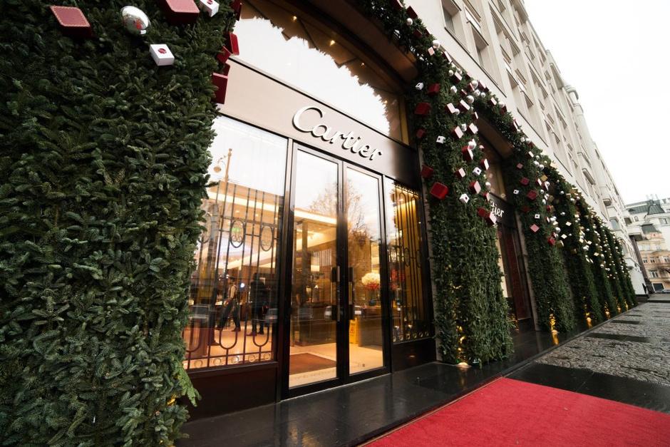 В бутике Cartier на Петровке прошла новогодняя Елка