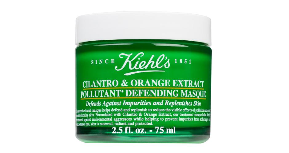 Ночная маска для защиты от агрессивных факторов окружающей среды Cilantro & Orange Extract Pollutant Defending Masque от Kiehl's