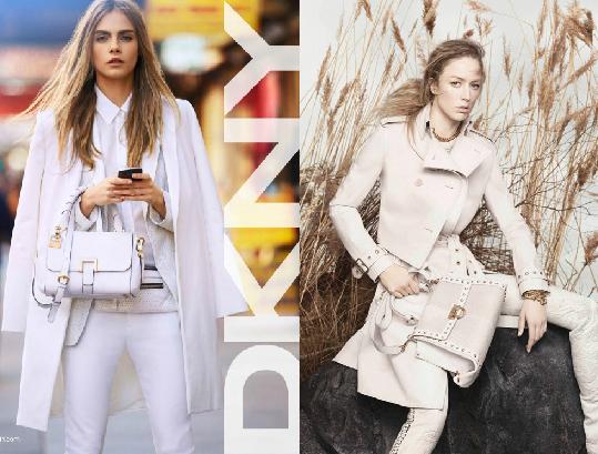 Рекламные кампании DKNY и Salvatore Ferragamo ss 2013