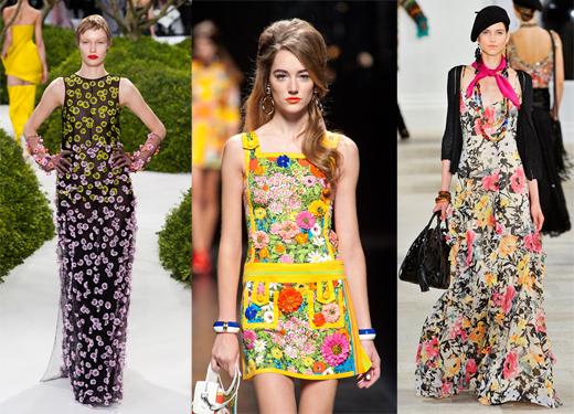 Цветочный принт - тренд сезона