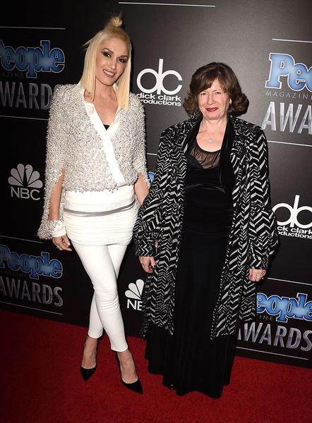 Гвен Стефани с мамой Пэтти