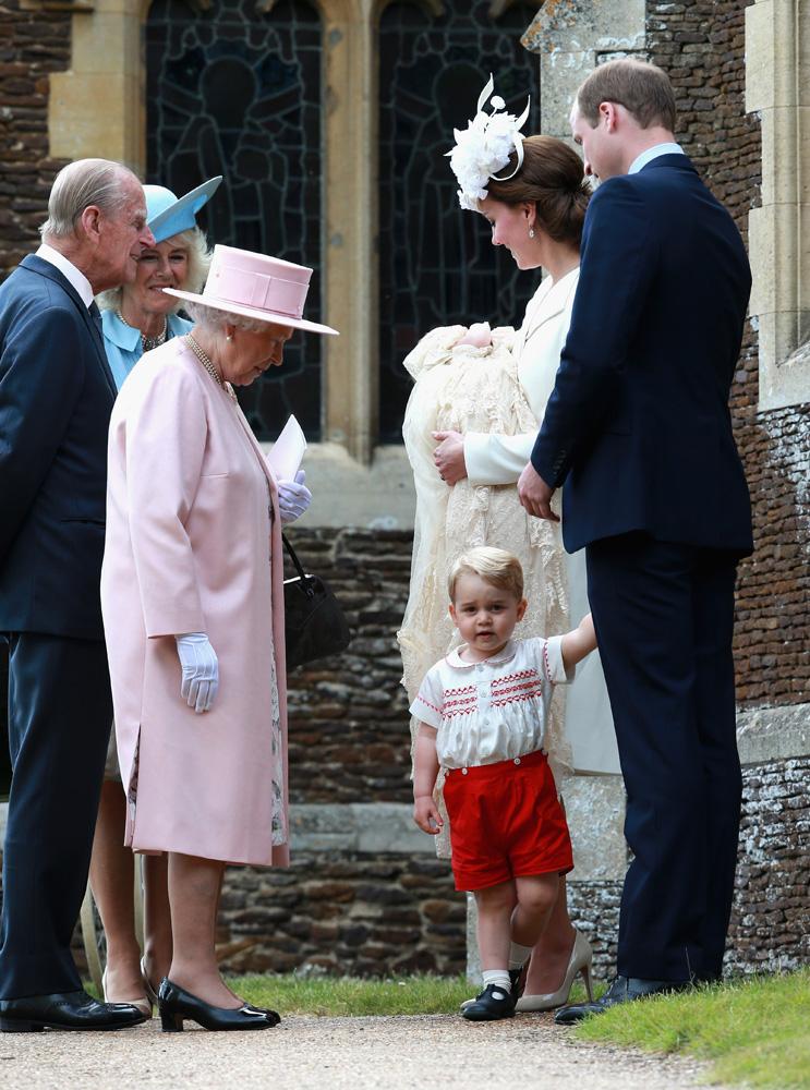 Члены британской королевской семьи: фото 2015