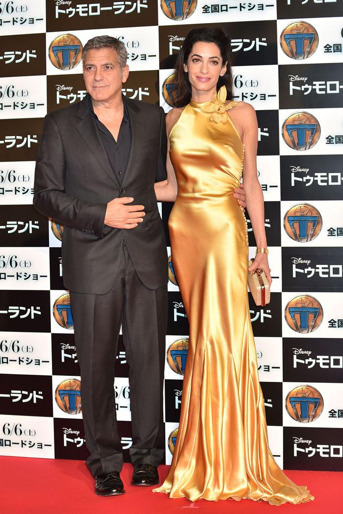 Джордж и Амаль Клуни: фото