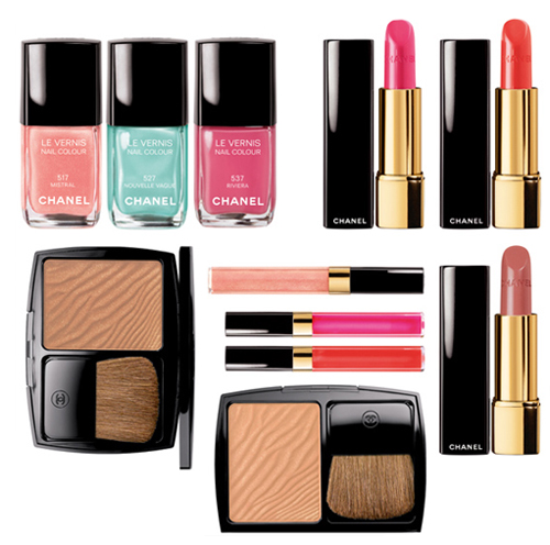 Les Pop up de Chanel - летняя коллекция макияжа