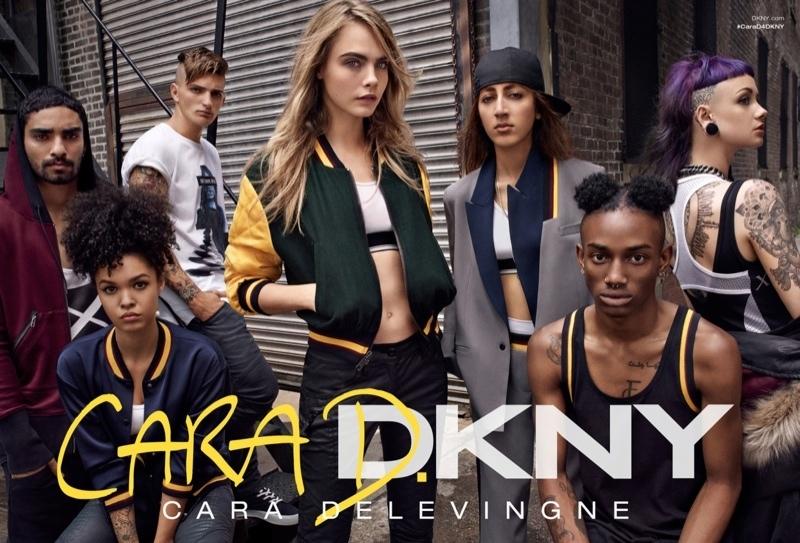 Новая рекламная кампания DKNY