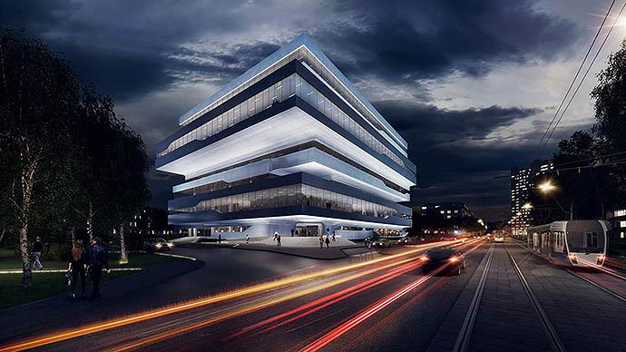 Dominion Tower по проекту Захи Хадид