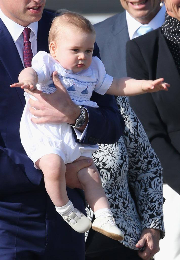 Street Style Принца Георга: образы юного монарха