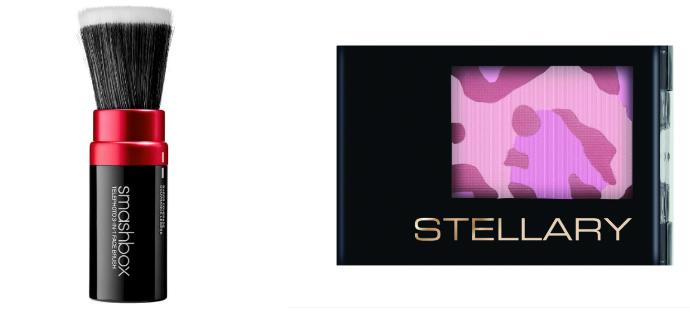 Кисть для макияжа Smashbox и румяна от Stellary
