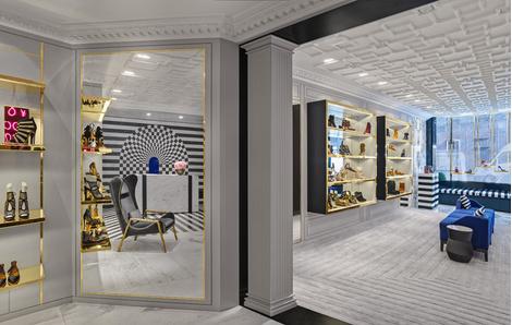 В Лондоне открылся первый флагманский магазин Aquazzura | галерея [1] фото [11]