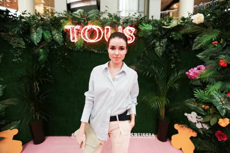 Звезды на открытии бутика TOUS | галерея [1] фото [3]