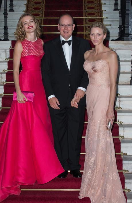Наталья Водянова, Князь Альбер II и Княгиня Шарлин