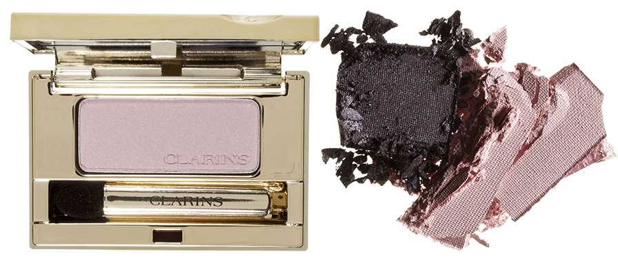 Тени Ombre Minérale, 03, Clarins, и All About Shadow Duo, 15, Clinique