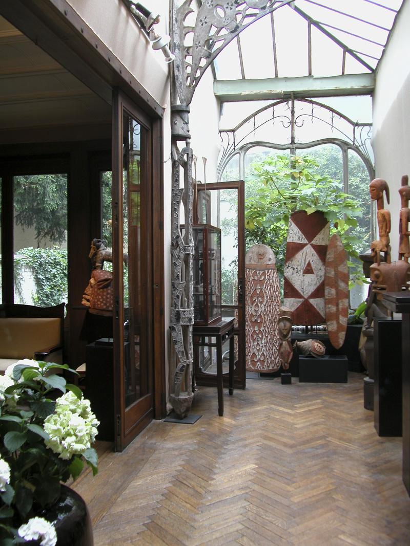 8 Visser Gallery: Примитивное искусство Африки, Индонезии, океании