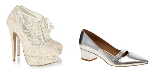 Свадебная обувь 2013: Charlotte Olympia, Asos