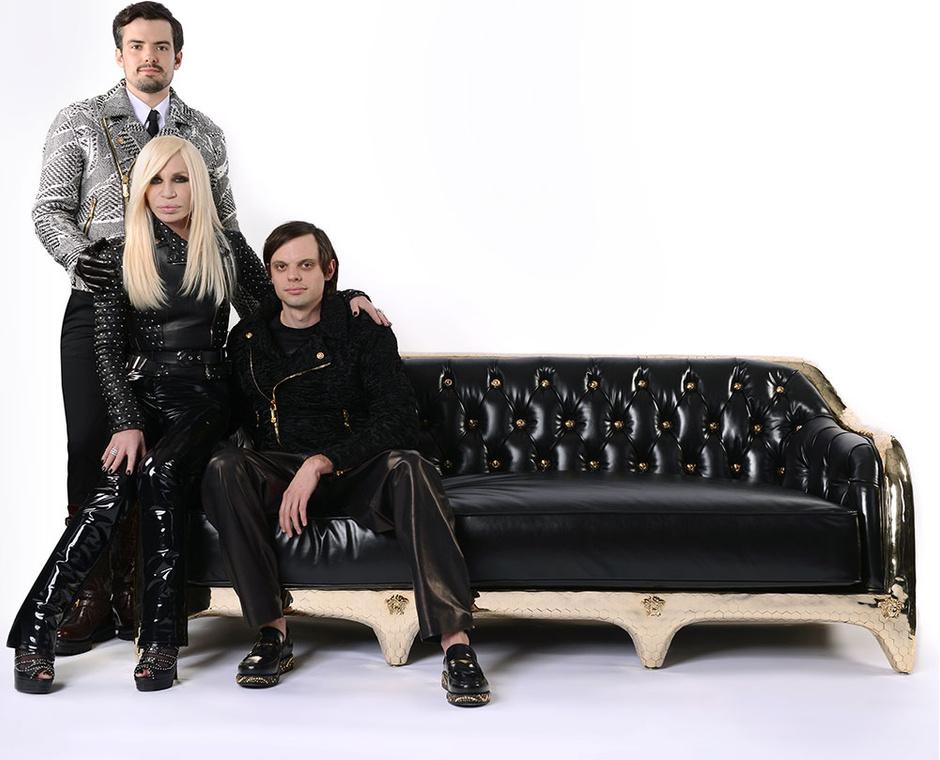 Новинки от Versace Home: интервью с Донателлой Версаче