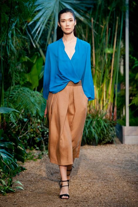Лучшие образы с показа Hermès на Неделе моды в Париже