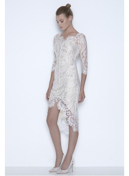 12 коротких платьев для невесты | галерея [1] фото [3]