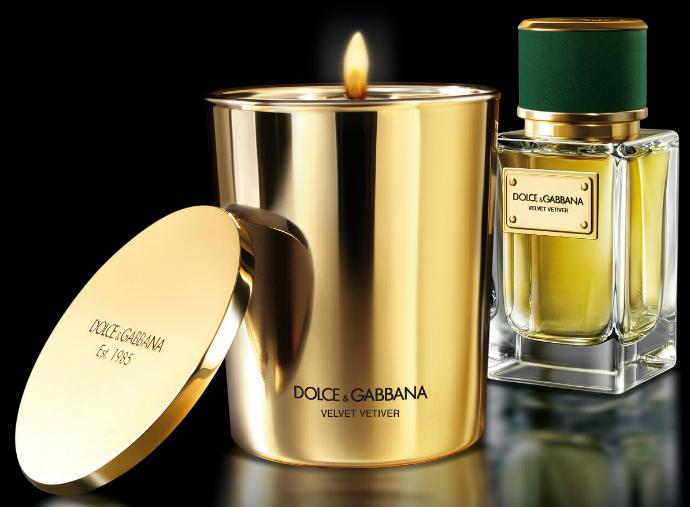 Лимитированная коллекция свечей Velvet от Dolce&Gabbana