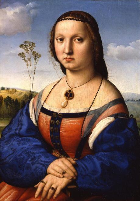 Портрет Магдалены Строцци, 1505-1506