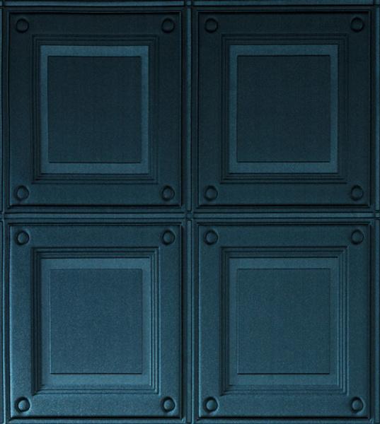 Текстильные обои Intrigue от ARTE, имитация буазери, компания «Ампир Декор».