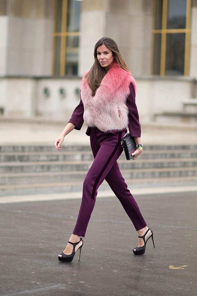 street style на Неделе высокой моды в Париже