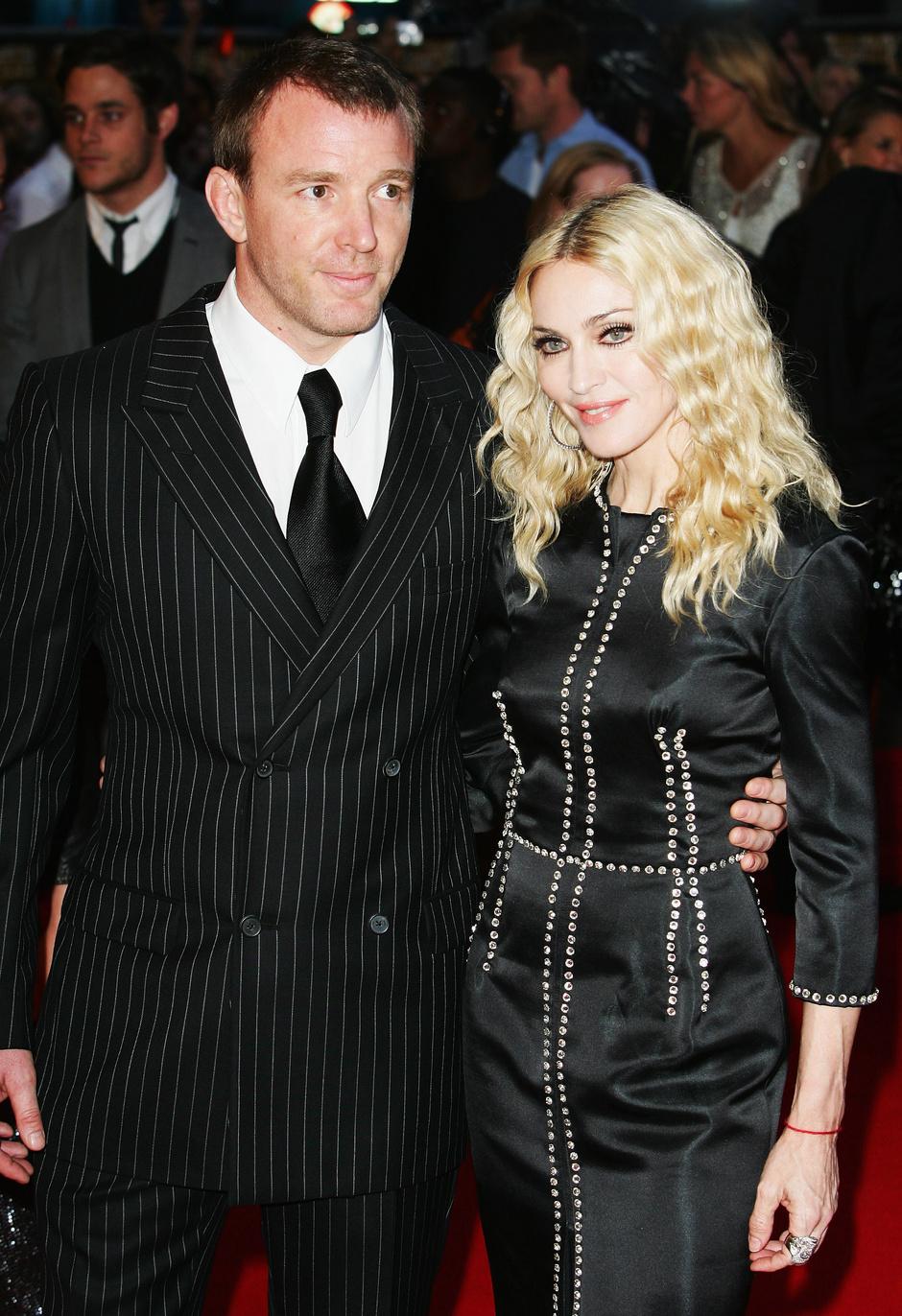 Мадонна и Гай Ричи в 2008 году