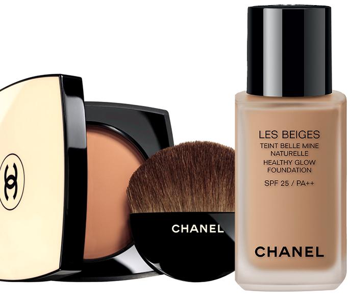 Chanel представили новую линию тональных средств Les Beiges