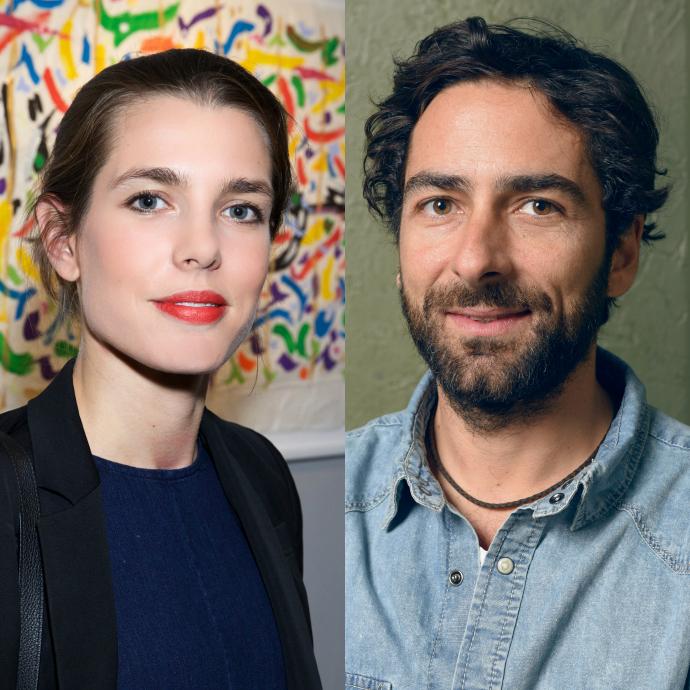 Шарлотта Казираги и Ламберто Санфеличе фото