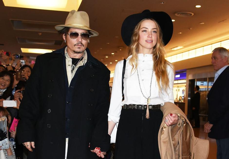 Стали известны подробности свадьбы Джонни Деппа и Эмбер Херд