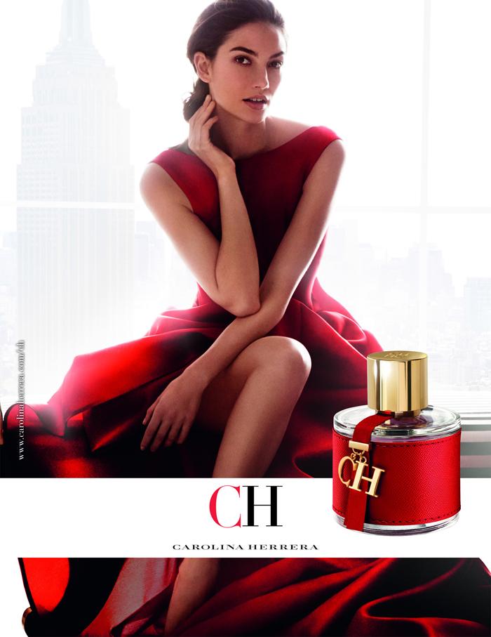 Лили Олдридж в рекламе
