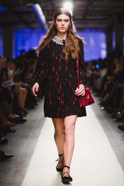 К зиме готовы: модный показ в ЦУМе | галерея [1] фото [12]
