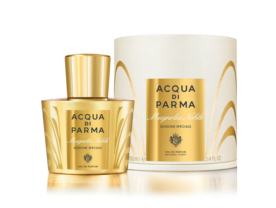 золотая классика: новое издание аромата magnolia nobile от acqua di parma