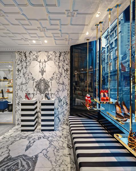 В Лондоне открылся первый флагманский магазин Aquazzura | галерея [1] фото [2]