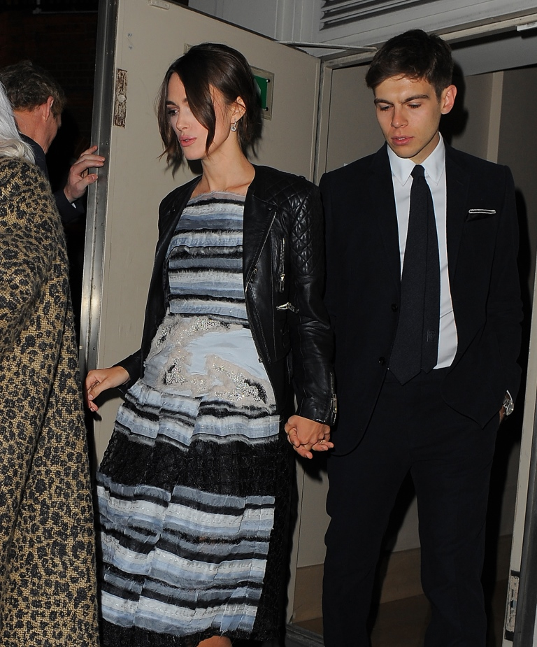 Кира Найтли беременна