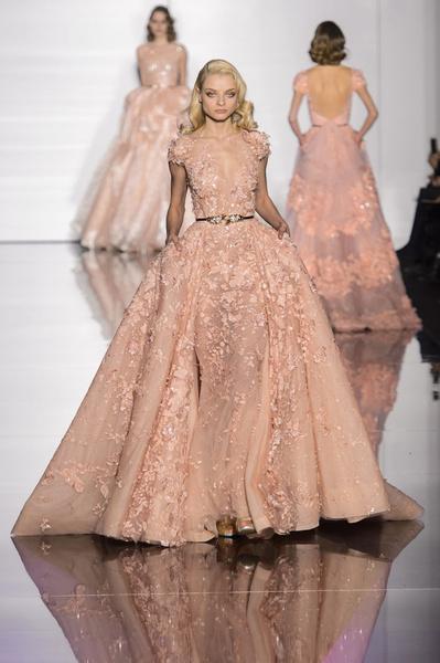 Показ Zuhair Murad Haute Couture | галерея [1] фото [14]