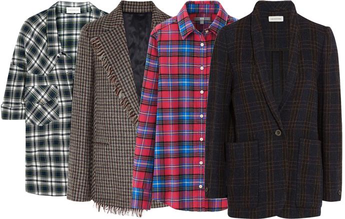 Выбор ELLE: рубашка Faith Connection, блейзер Acne Studios, рубашка Uniqlo, блейзер Etoile Isabel Marant