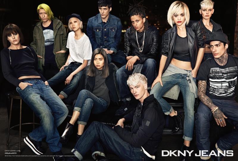 Коллекция DKNY осень-зима 2014-15