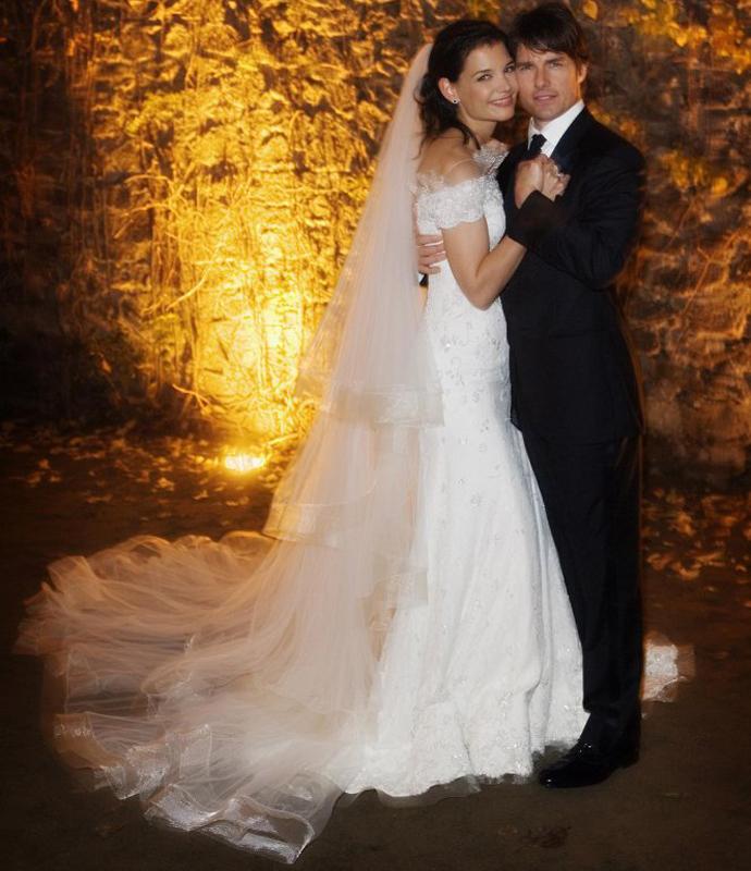 Кэти Холмс, свадьба, 2006