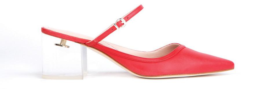 Модные туфли без задника