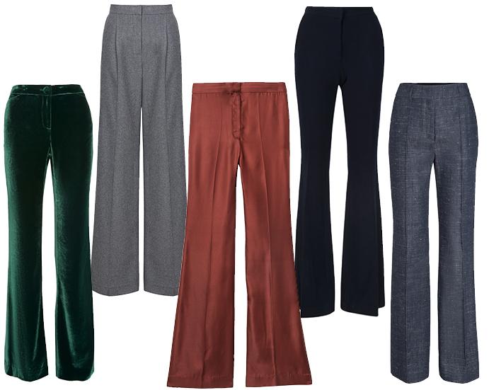 Модные брюки осень-зима 2015/2016